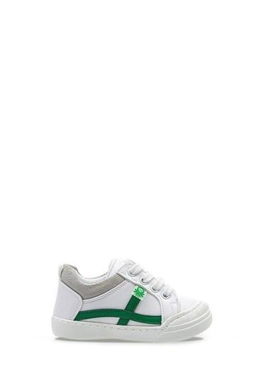 Benetton Bn1016 Çocuk Spor Ayakkabı Beyaz